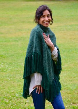 Custom Made Triangle Poncho