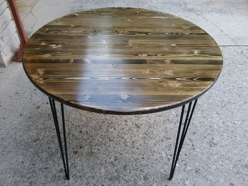 Custom Made Round Reclaimed Table