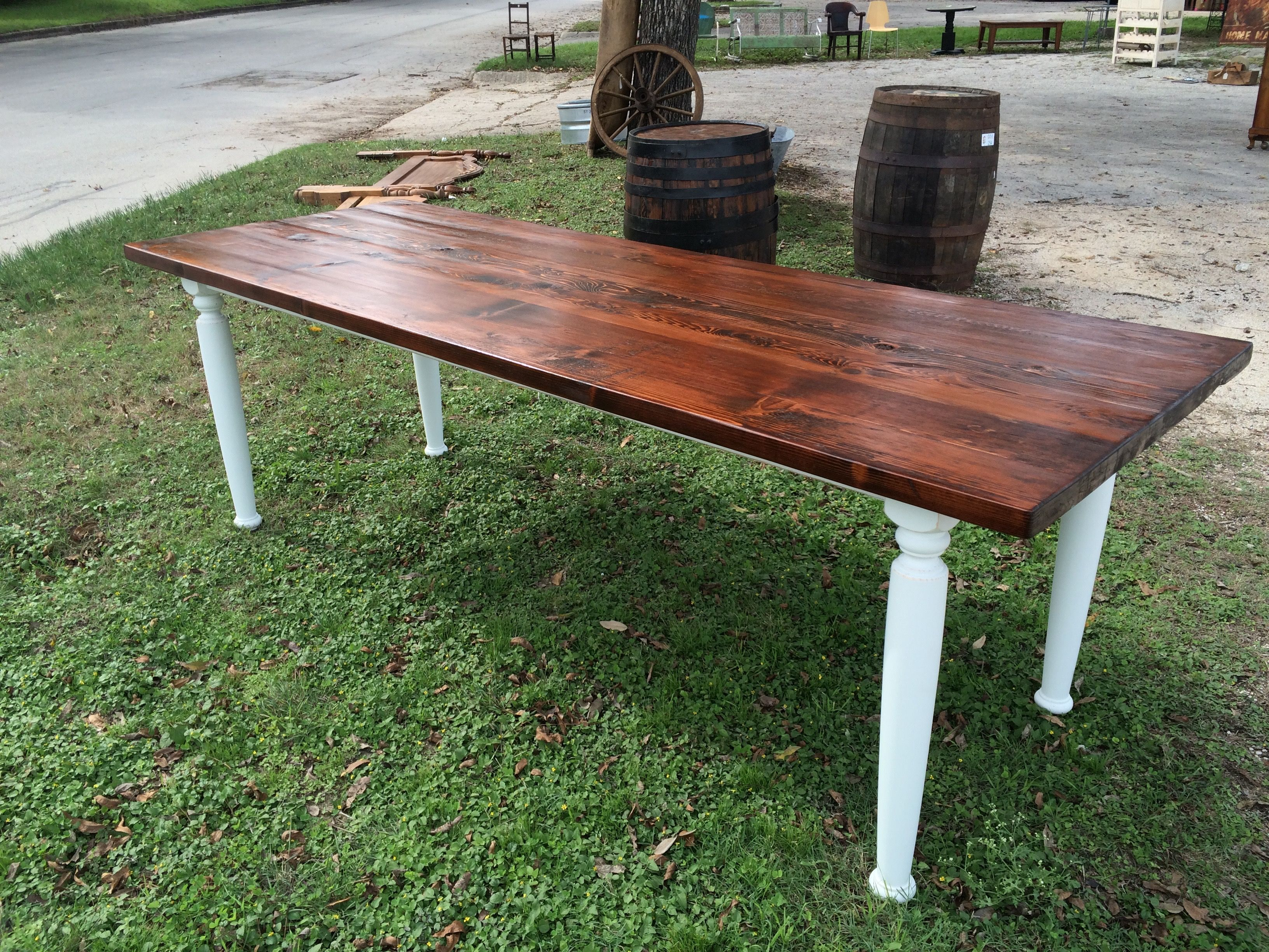 8 Ft Western Red Cedar Farm Table