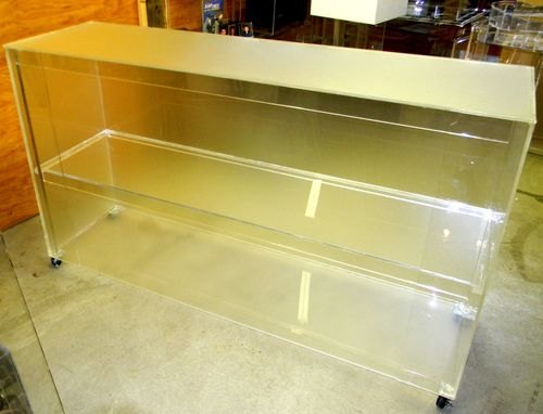 Custom Made Full Lucite Bar - For Personal Or Professioanl Use - Handcrafted, Custom Sizing Welcome