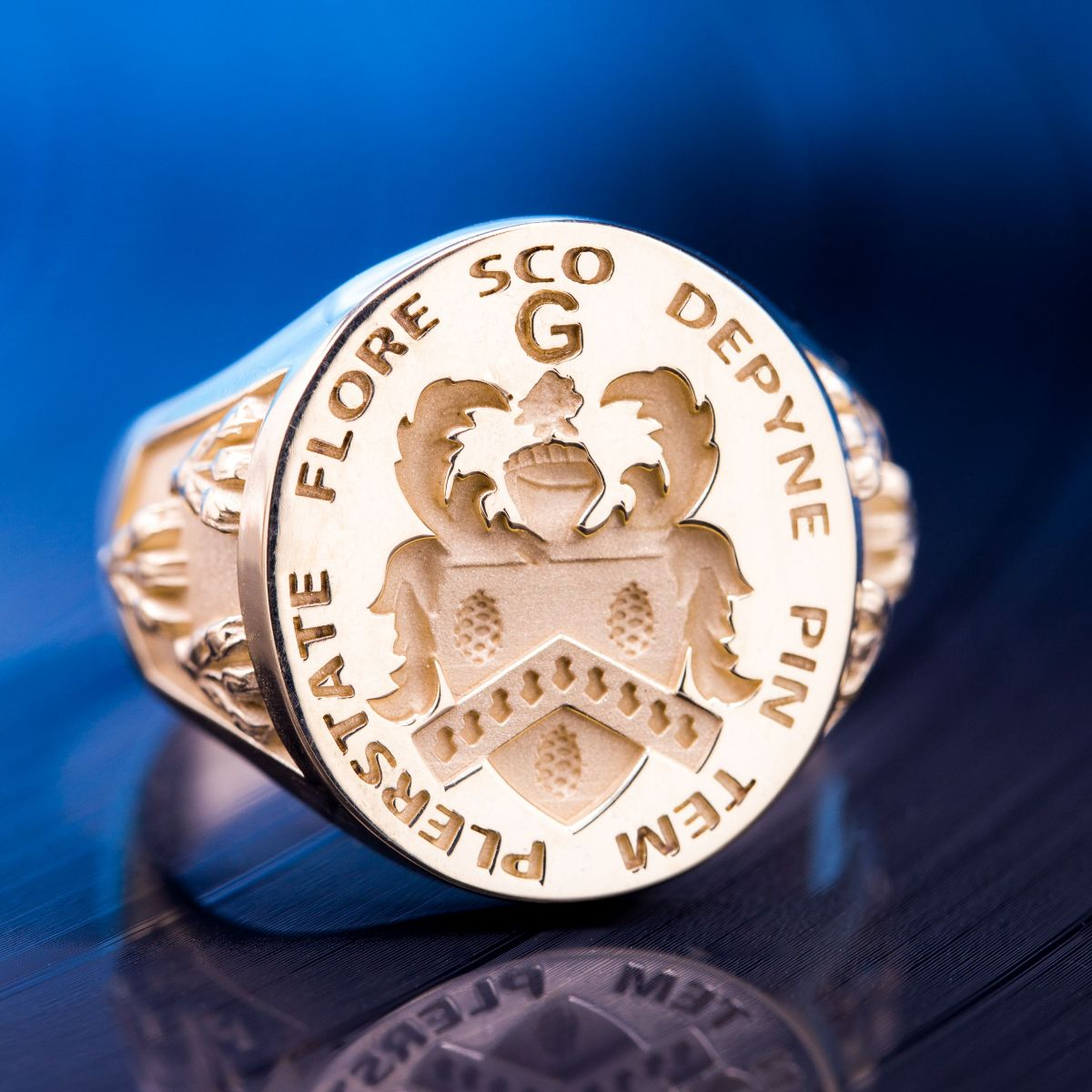 Custom Family Crest Rings Design Your Own Coat Of Arms