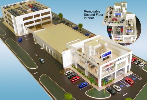 Custom Made Detailed Architectural Scale Model & Site Plan Model