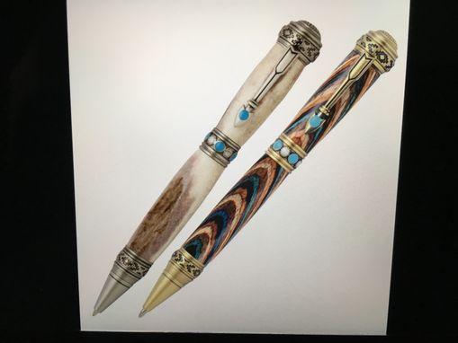 Custom Made Hand Crafted Southwest Style Pen