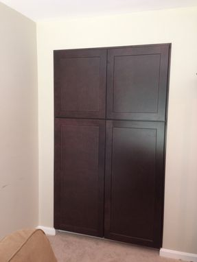 Custom Made Built-In Pantry Cabinets