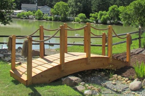 Custom Made Cypress Garden River Bridge