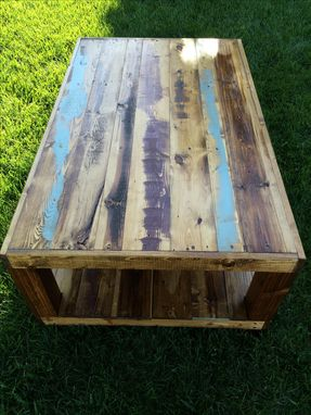 Custom Made Rustic, Reclaimed, Coffee Table