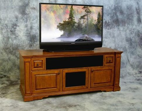 Custom Made White Maple Media Credenza