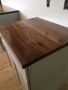 Custom Made Walnut Countertops