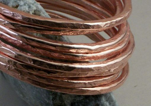 Custom Made 7-Gauge Copper Wire Bangle