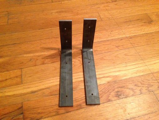 Custom Made Metal Shelf Brackets