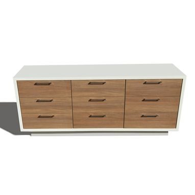 Custom Made Madrid 9 Drawer Dresser