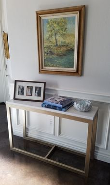 Custom Made Metal Console Table (Brady)
