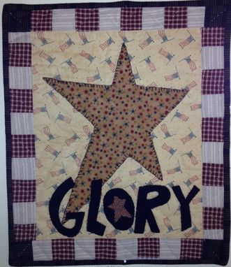 "Custom Made ""Glory"" Wall Quilt"