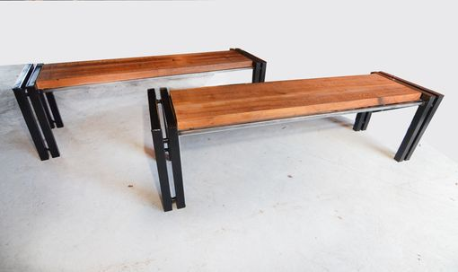 Custom Made Modern Farm Benches