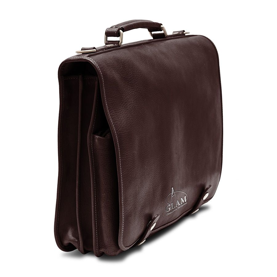 Buy a hand crafted elegant italian leather business for Made com italia