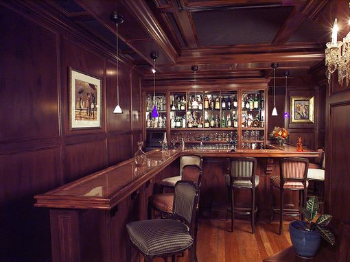 Custom Made Restaurant Bar: Huntington Ny
