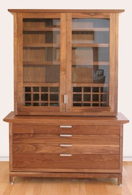 Custom Made Display Cabinet And Storage