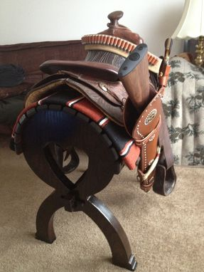 Custom Made Saddle Rack