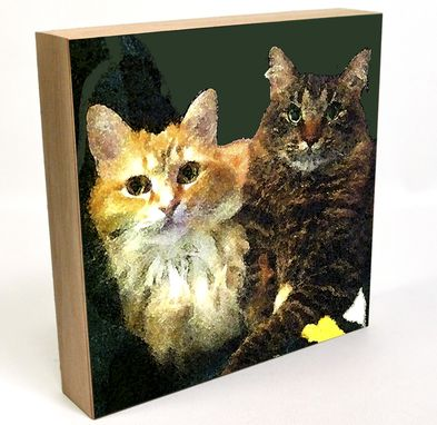 Custom Made Custom Pet Portraits, Cats And Kittens