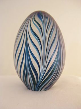 Custom Made Handmade Glass Eggs