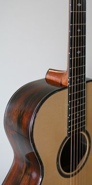 Custom Made O.C.Bear 'Chelsea Parlor' Model Acoustic Guitar