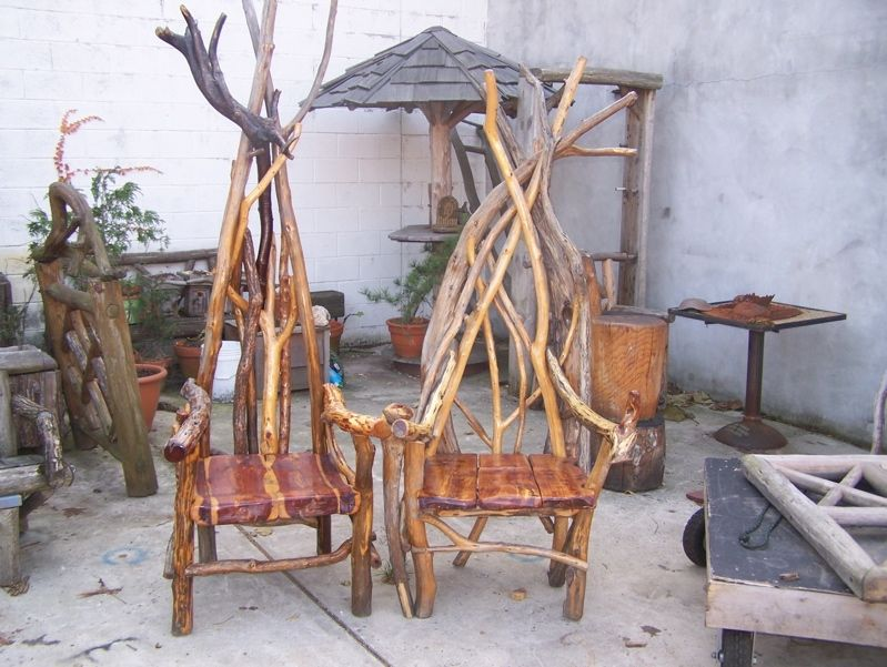 American Made Furniture >> Handmade Throne Chairs by Natural Edge | CustomMade.com