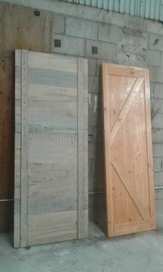 Custom Made Wood Barn Doors