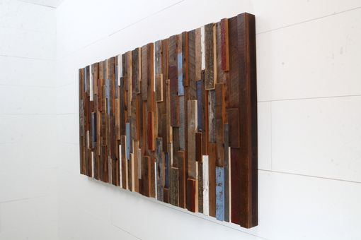 Custom Made Wood Wall Art Made Of Old Reclaimed Barnwood, Different Sizes Available.