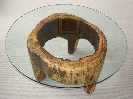 Custom Made Hollow Log Table