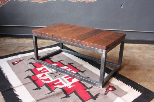 Custom Made Reclaimed Coffee Table