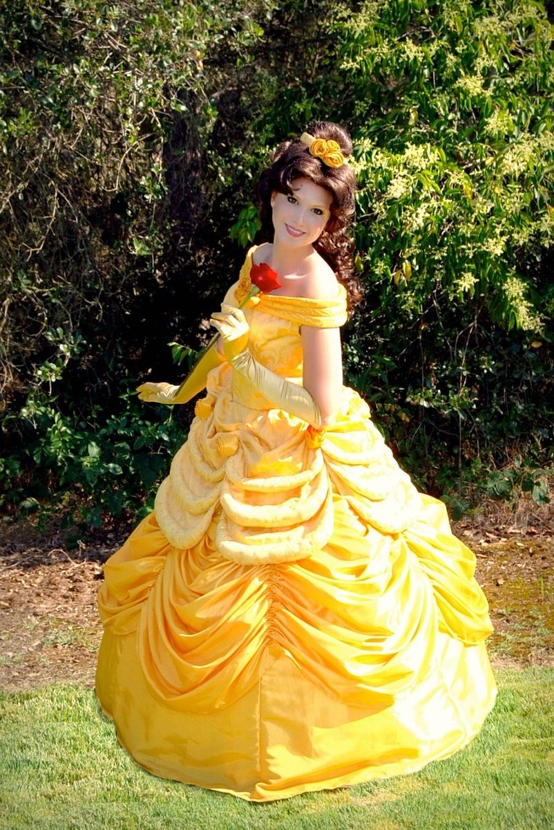 Custom Made Belle Parade Version Adult Costume Beauty And The Beast ...