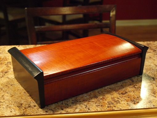 Custom Made Curly Maple Jewelry/Keepsake Box