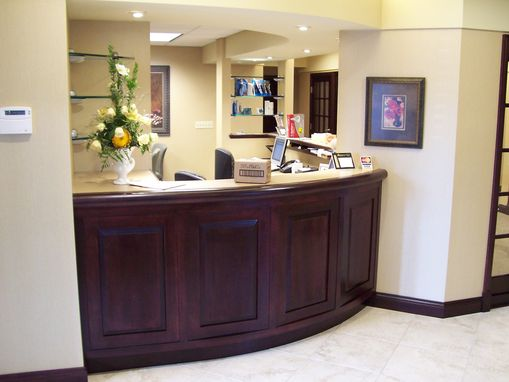 Custom Made Reception Area