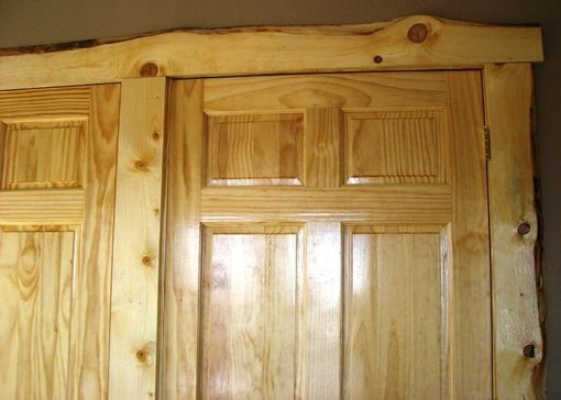 Custom Made Live Edge Trimwork For Windows And Doors