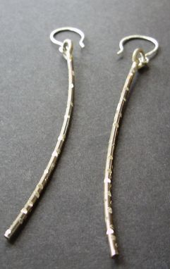 Custom Made Winter Branch Earrings