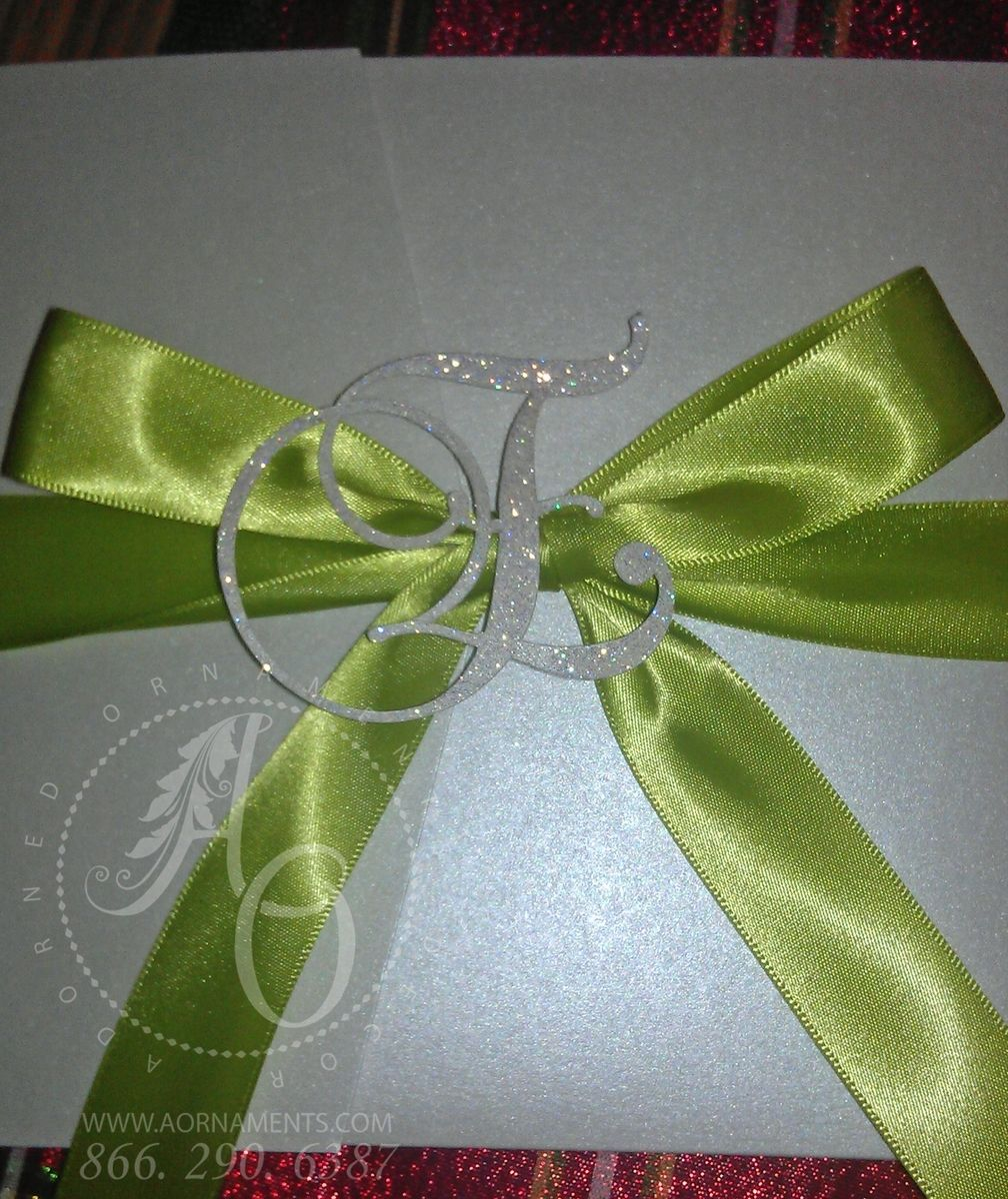 Hand Crafted Handmade Wedding Invitations By Adorned Ornaments