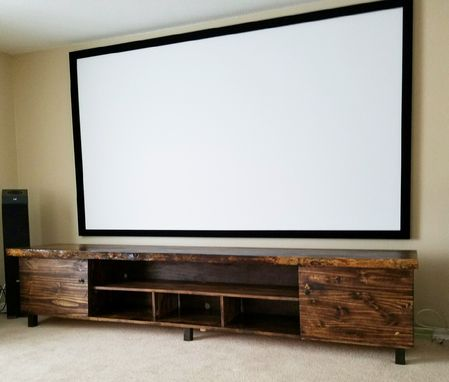 Custom Made Tv Media Storage