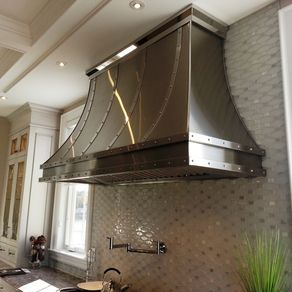 Stainless Steel Kitchen Commercial Vent Hood