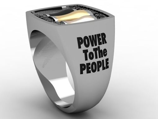 Custom Made Corporate Ring, Electric City