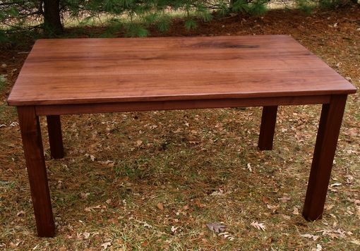 Custom Made Parson's Dining Table