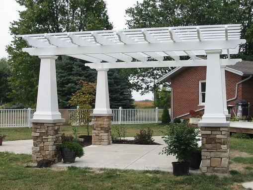 Custom Made Fiberglass Pergolas's ,Custom To Your Design