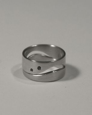 Custom Made Puzzle Engagement Ring