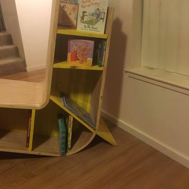 Custom Made Curved Bookcase Chair
