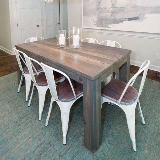 Hilary Farr Kitchen Designs: Custom Southport Dining Table By Carolina Farmstead