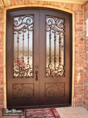 Custom Made Frisco Iron Door #23