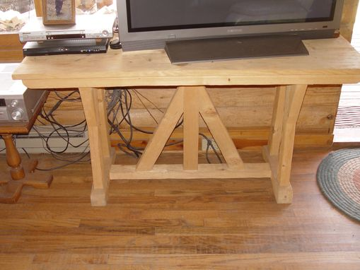 Custom Made Pine Table