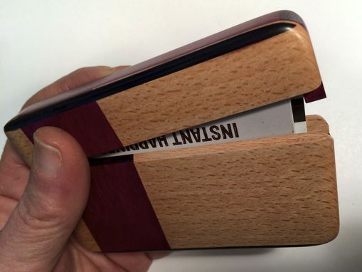 Custom Made Wallet And Card Holder
