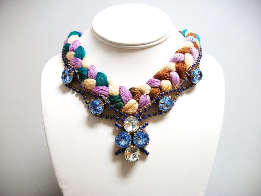 "Custom Made Neutral Necklace ""Lola''"