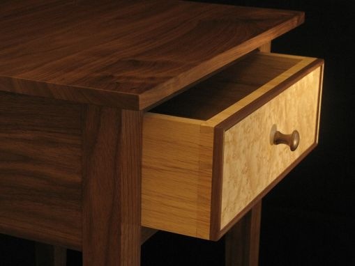 Custom Made Elegant Nightstand W/Shelf