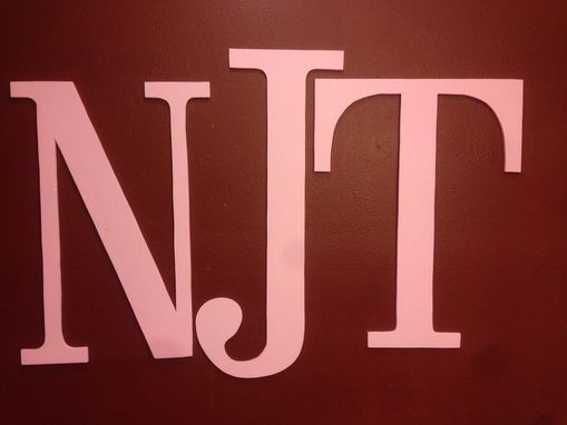 Custom Made Monogram